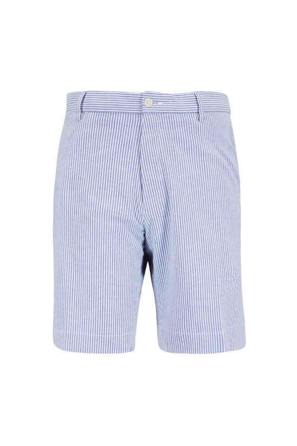 Polo Ralph Lauren Blue Seersucker Shorts