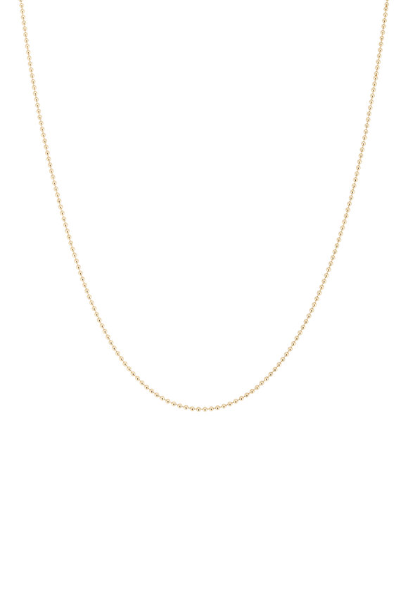 Tina Negri 18K Yellow Gold Beaded Necklace