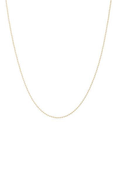 Tina Negri - 18K Yellow Gold Beaded Necklace