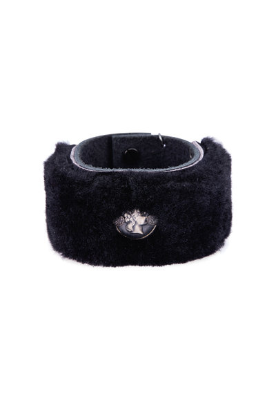 Tina Negri - Shearling Goddess Cuff Bracelet