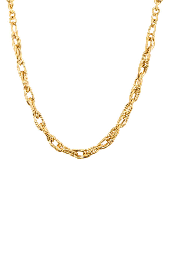 Ashley Pittman Bronze Saka Necklace