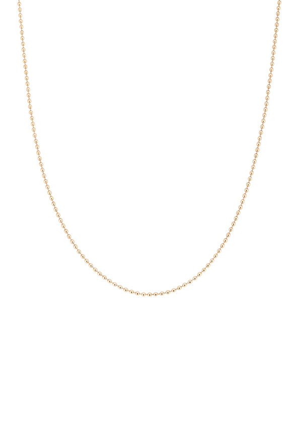 Tina Negri 14K Yellow Gold Beaded Necklace