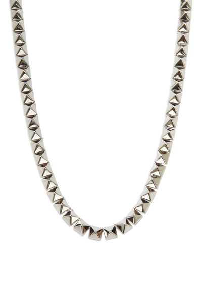 Eddie Borgo - Sterling Silver Pyramid Necklace
