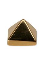 Eddie Borgo - Yellow Gold Plated  Pyramid Studs