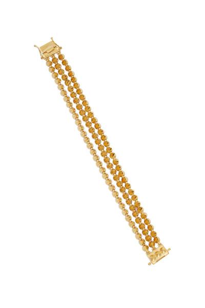 Eddie Borgo - Matte Yellow Gold Triple Mini Cone Bracelet