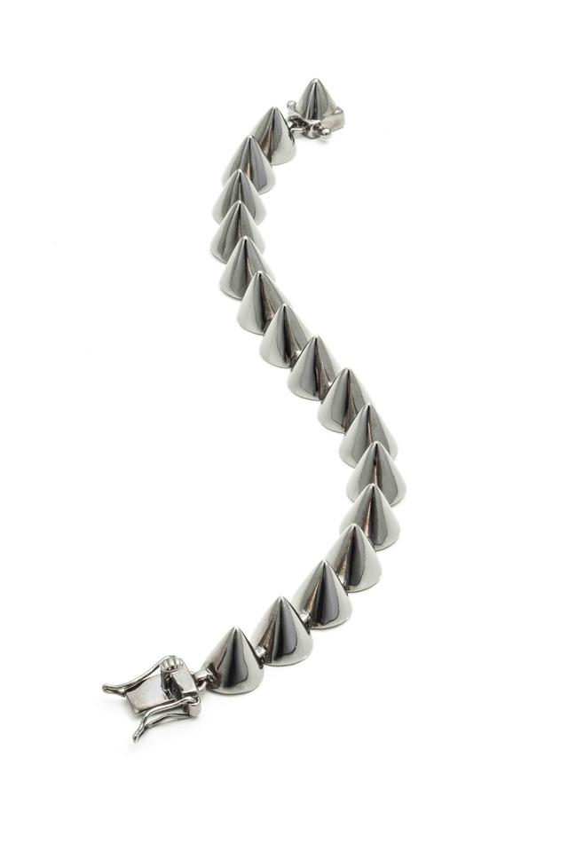 Gunmetal Cone Bracelet