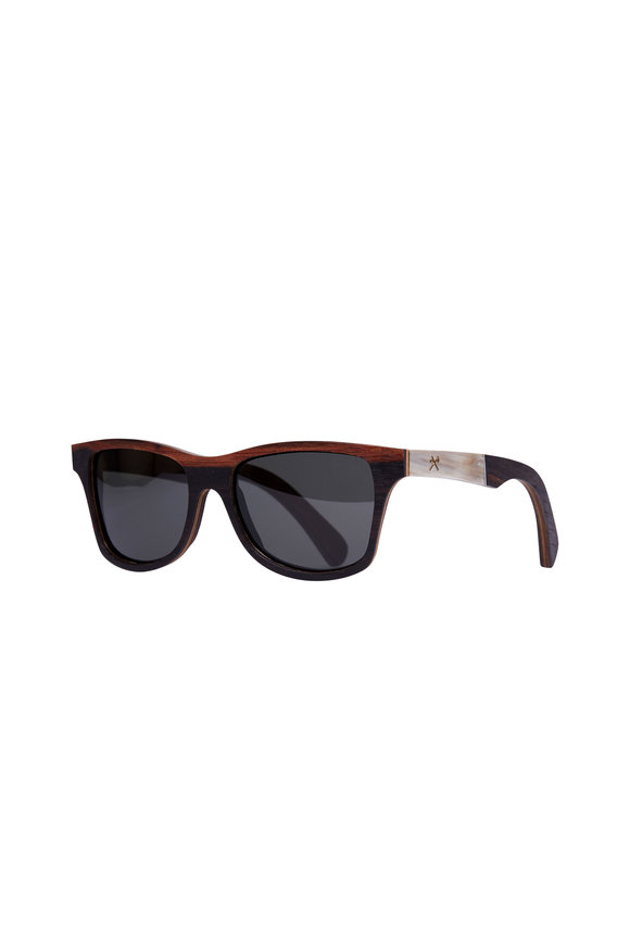 Shwood Canby Ebony & Horn Polarized Sunglasses