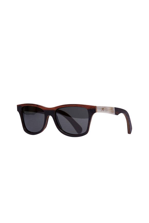 Shwood Canby Ebony & Horn Polarized Sunglasses