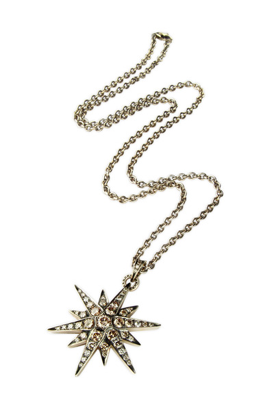 H. Stern - Noble Gold Diamond Star Pendant