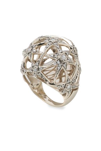 H. Stern - Copernicus Noble Gold White Diamond Ring