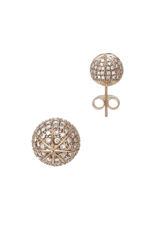 Noble Gold Diamond Hiparcos Earrings