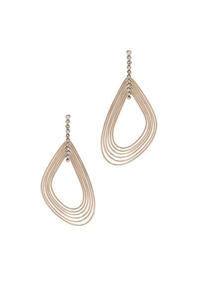 H. Stern - Iris Red Gold Diamond Earrings