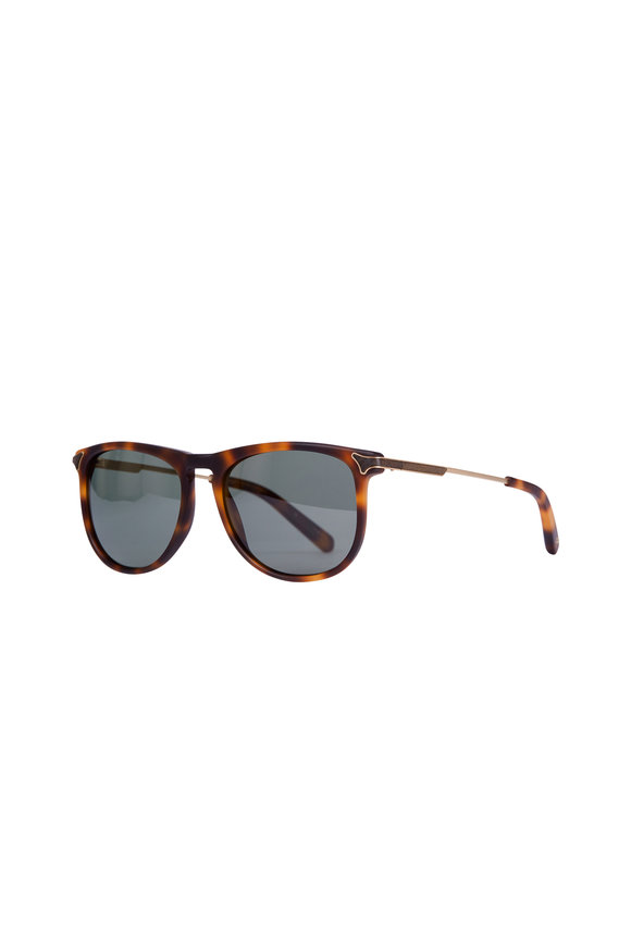Shwood Keller Matte Brindle Polarized Sunglasses