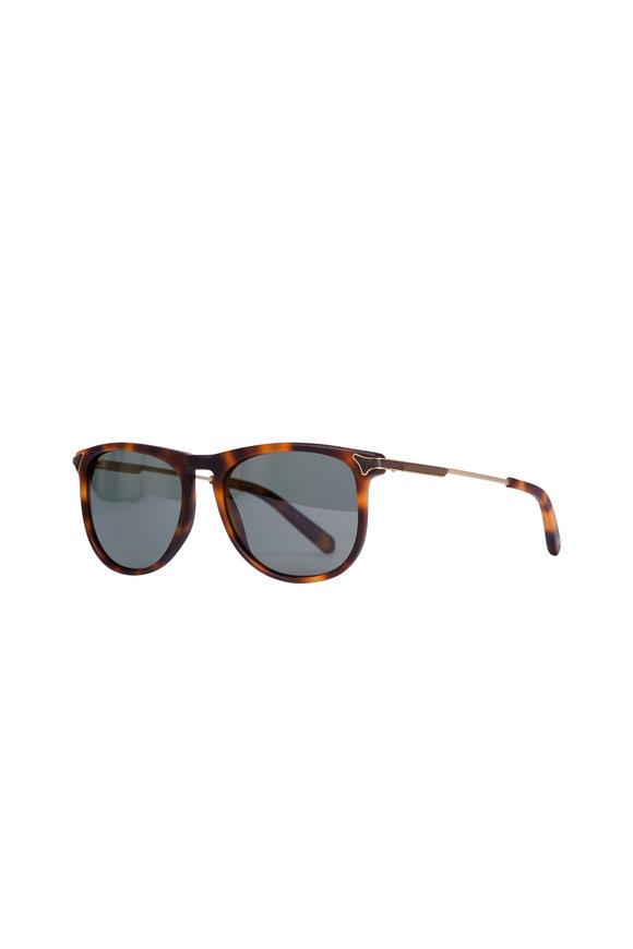 Shwood Keller Matte Brindle Polarized Sunglasses