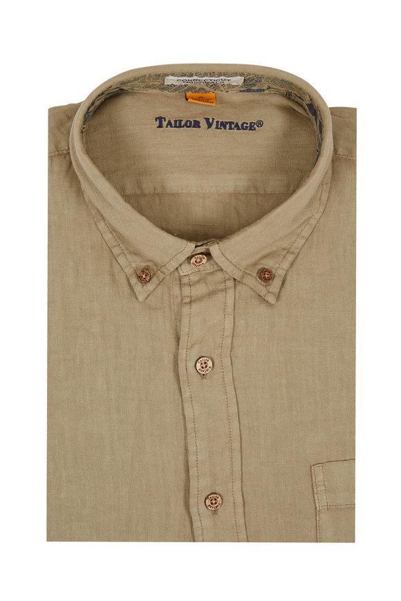 Tailor Vintage Elmwood Linen Sport Shirt