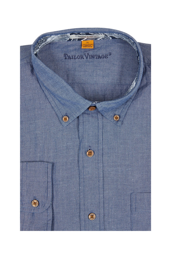 Tailor Vintage Chambray Sport Shirt