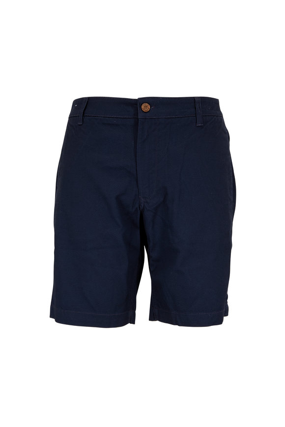 Tailor Vintage Navy Stretch Twill Shorts