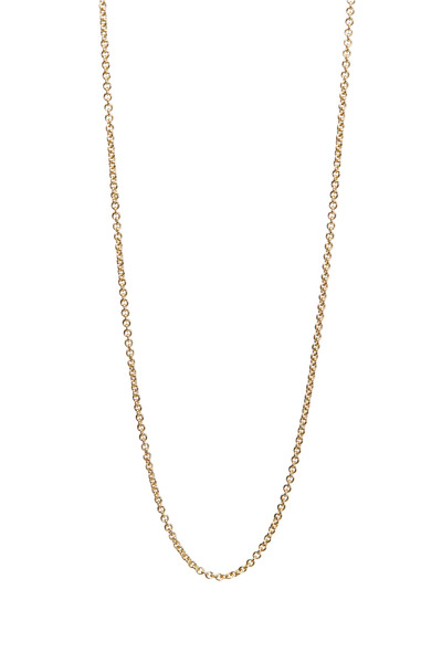 Paul Morelli - Yellow Gold Bell Necklace