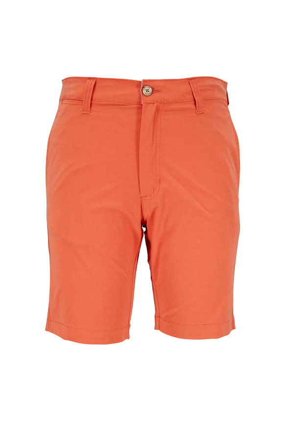 Tailor Vintage Solid Emberglow Hybrid Swim Shorts