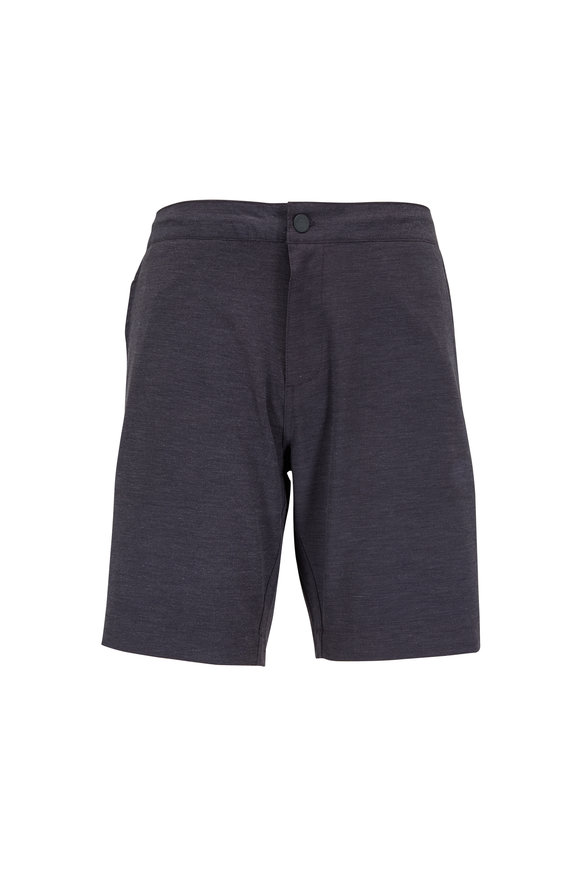 Faherty Brand Charcoal Grey All Day Shorts