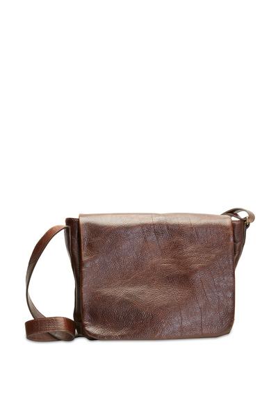 Moore & Giles - Americana Bison Messenger Bag