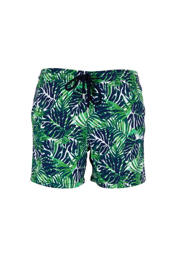 Vilebrequin Madrague Sashimi Green Swim Trunks