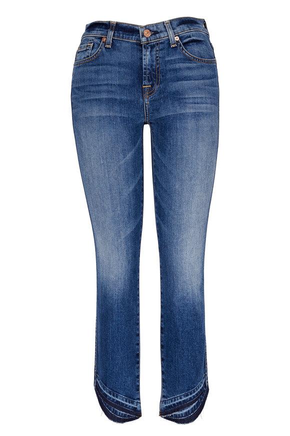 7 For All Mankind Roxanne Classic Skinny Angled Step Hem Jean