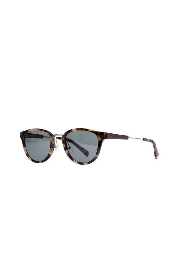Shwood Ainsworth Vintage Tortoise Polarized Sunglasses