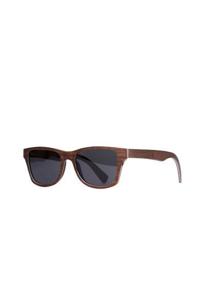 Shwood - Canby Walnut Gray Polarized Sunglasses