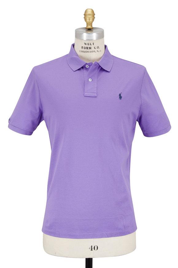 Polo Ralph Lauren Purple Mesh Polo