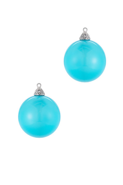 Paolo Costagli - Turquoise Diamond Earrings