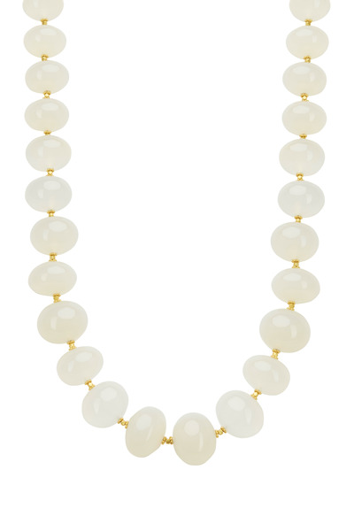 Loriann - Milky White Chalcedony Necklace