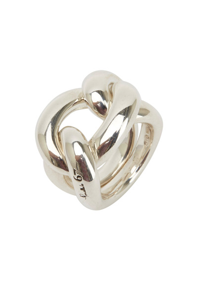 Pomellato - Sterling Silver Gourmet Knot Ring