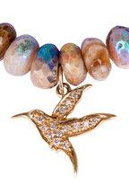 Sydney Evan - Opal Humming Bird Charm Bracelet