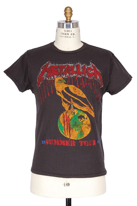 Madeworn Black Metallica Summer Tour T-Shirt