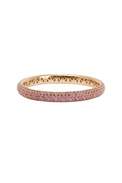 Mattia Cielo - 18K Pink Gold Pink Sapphire Bracelet