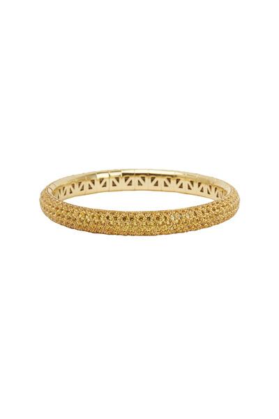 Mattia Cielo - 18K Yellow Gold Yellow Sapphire Bracelet