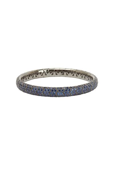 Mattia Cielo - Universo Brown Gold Blue Sapphire Bracelet