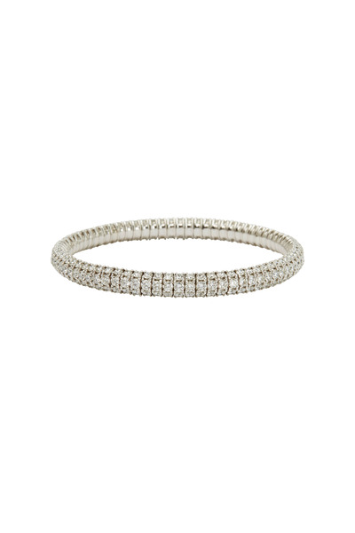 Mattia Cielo - 18K White Gold Diamond Bracelet