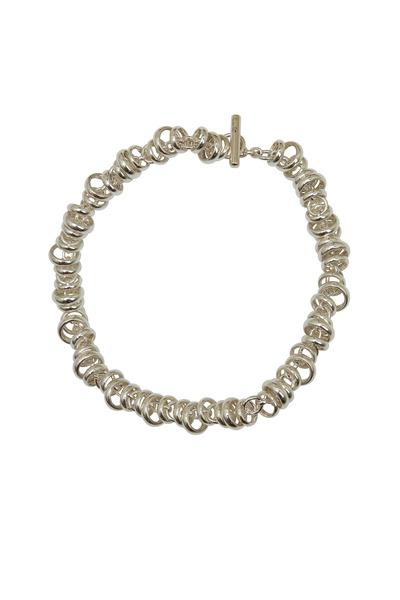 Pomellato - Sterling Silver Chain Rondelle Bracelet