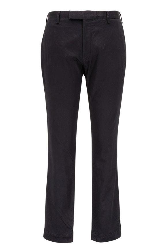 Polo Ralph Lauren Black Stretch Cotton Slim Fit Pant