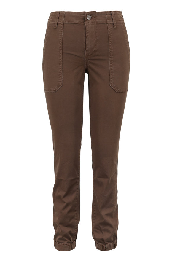 Vince Dark Willow Wash Ankle Zip Utility Pant