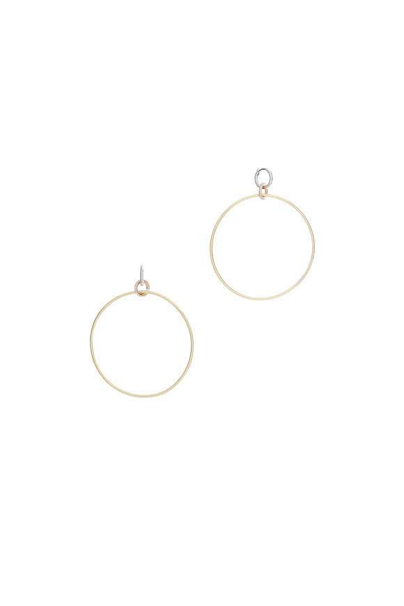Spinelli Kilcollin 18K Gold Diamond Altaire Hoops