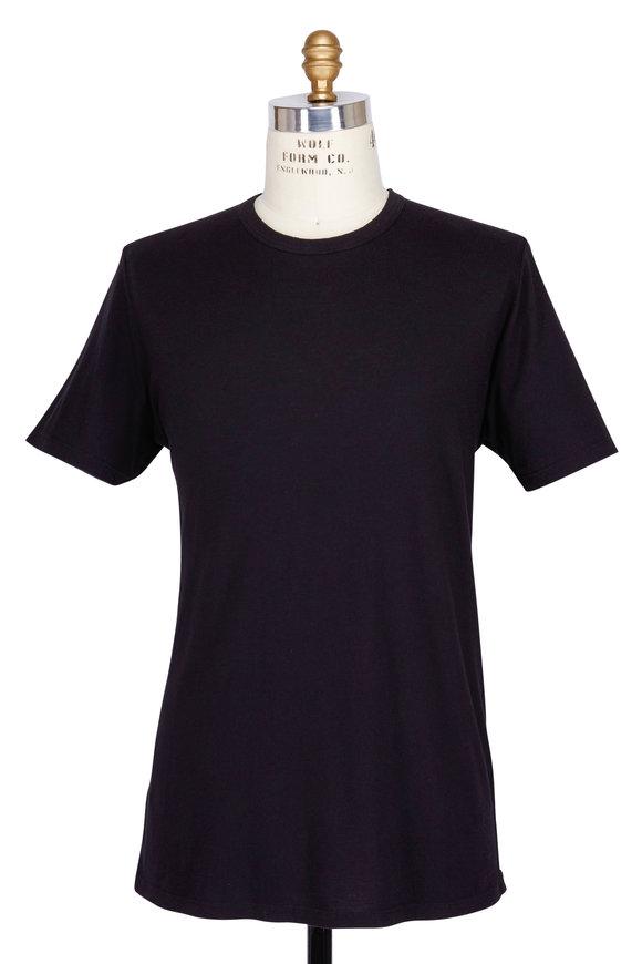 Baldwin Black Crewneck T-Shirt