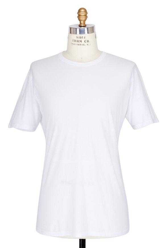 Baldwin White Crewneck T-Shirt