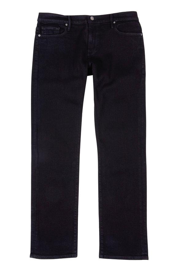 Frame Black Slim Straight Leg Jean