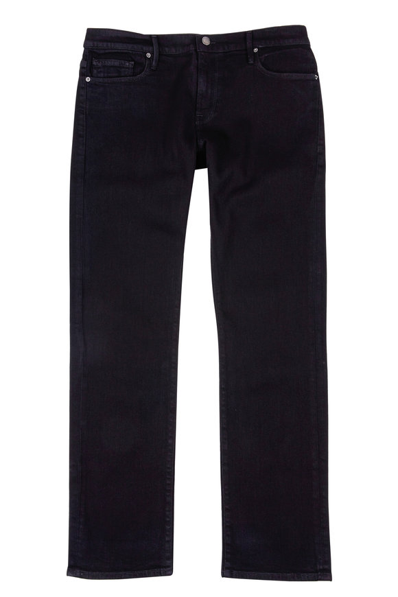 Frame Black Slim Straight Leg Jean
