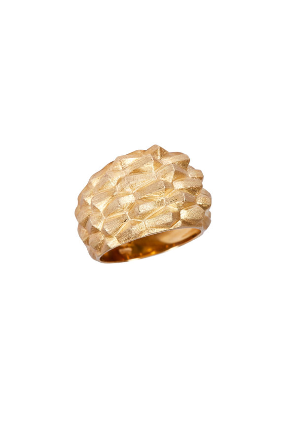 Luisa Rosas Yellow Gold Water Ring