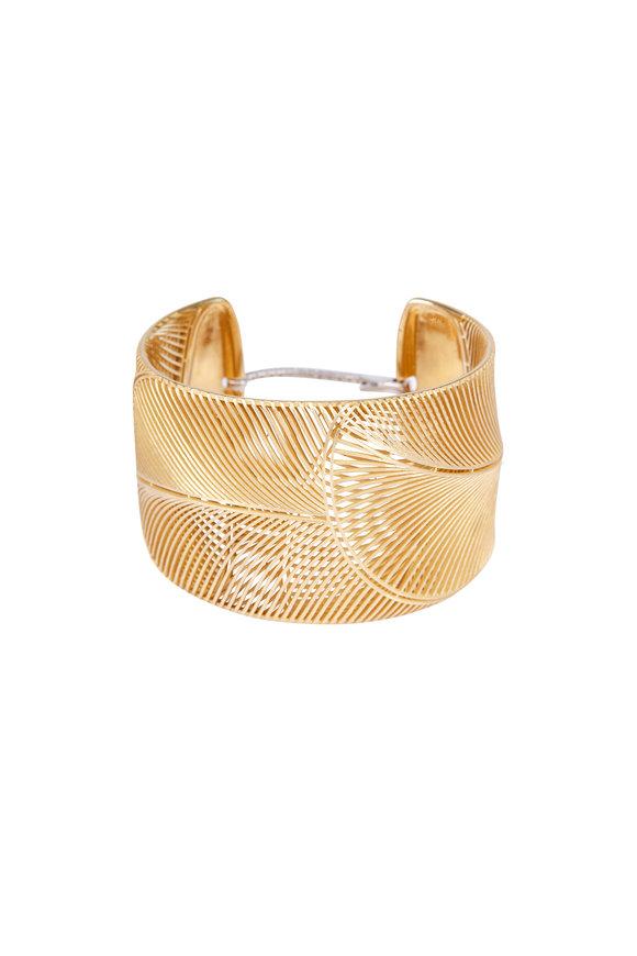 Luisa Rosas 18K Yellow Gold & Diamond Cuff Bracelet