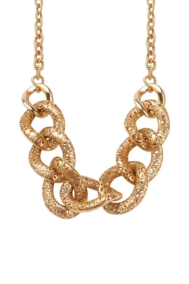 Arabesque Rose Gold Necklace